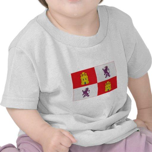Bandera de Castilla y León Camiseta