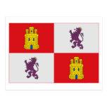 Bandera de Castilla y León Postal