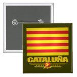 Bandera de Cataluña (Cataluña) Pin
