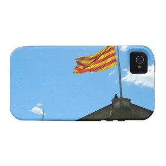 Bandera de Cataluña Vibe iPhone 4 Fundas