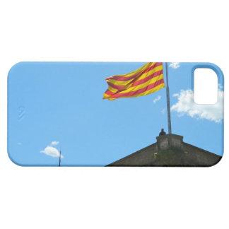 Bandera de Cataluña iPhone 5 Case-Mate Cárcasa