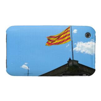 Bandera de Cataluña iPhone 3 Fundas