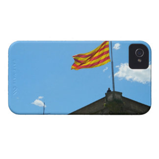 Bandera de Cataluña iPhone 4 Carcasa