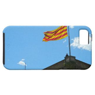 Bandera de Cataluña iPhone 5 Case-Mate Funda