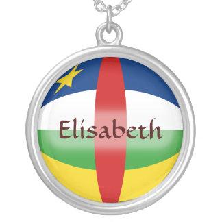 Bandera de Centrafrique + Collar conocido