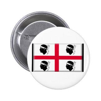 Bandera de Cerdeña (Italia) Pins