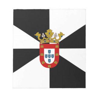 Bandera de Ceuta (España) Libreta Para Notas