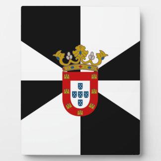 Bandera de Ceuta (España) Placas