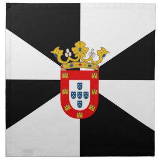 Bandera de Ceuta (España) Servilletas De Papel
