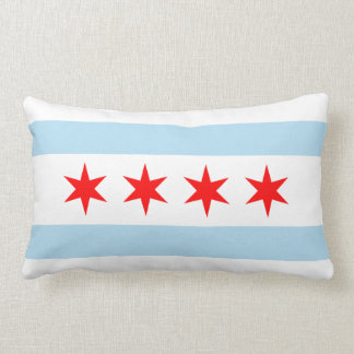 Bandera de Chicago Almohadas