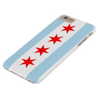 Bandera de Chicago Funda De iPhone 6 Plus Barely There
