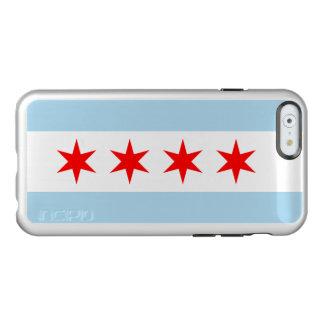 Bandera de Chicago Funda Para iPhone 6 Plus Incipio Feather Shine