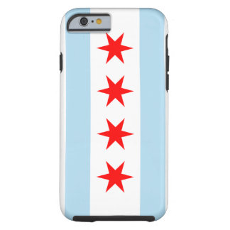 Bandera de Chicago Funda Para iPhone 6 Tough