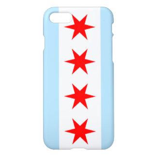 Bandera de Chicago Funda Para iPhone 7