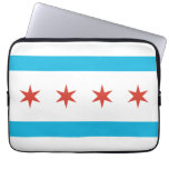 Bandera de Chicago Mangas Portátiles