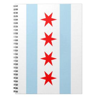 Bandera de Chicago Notebook