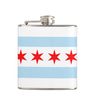 Bandera de Chicago Petaca