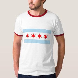 Bandera de Chicago Playera