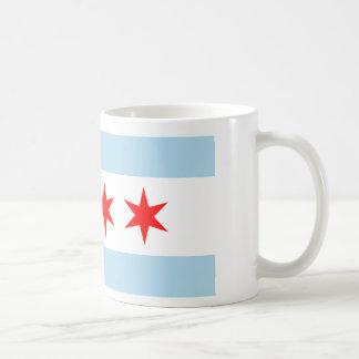 Bandera de Chicago Taza