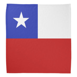 Bandera de Chile Bandanas