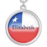 Bandera de Chile + Collar conocido