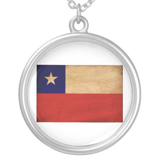 Bandera de Chile Collares