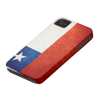 Bandera de Chile iPhone 4 Case-Mate Fundas