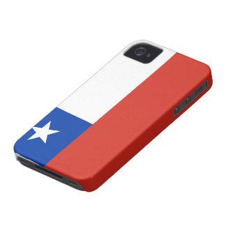Bandera de Chile iPhone 4 Case-Mate Carcasa