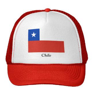 Bandera de Chile Gorros Bordados
