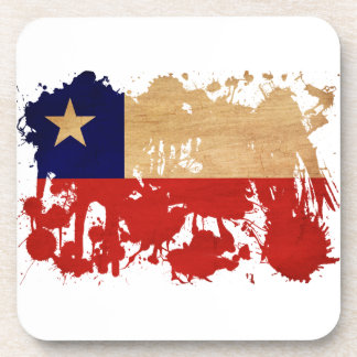 Bandera de Chile Posavaso