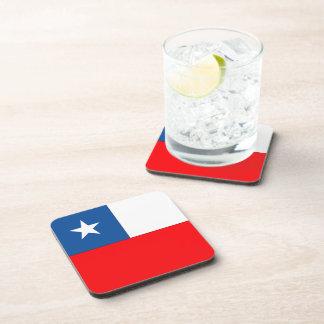 Bandera de Chile Posavasos
