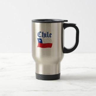 Bandera de Chile Taza De Viaje