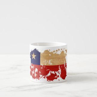 Bandera de Chile Taza Espresso