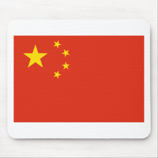 Bandera de China. Adorno chino. Detalle Alfombrillas De Ratones