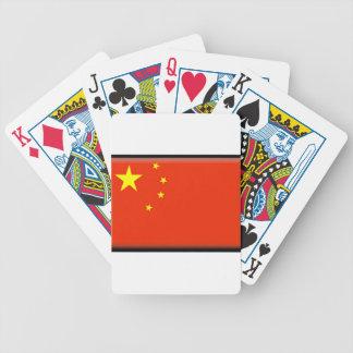 Bandera de China Baraja Cartas De Poker