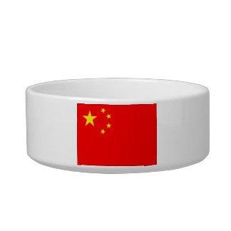 Bandera de China Comedero Para Mascota