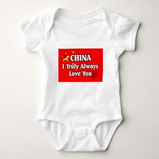 Bandera de China Mameluco De Bebé