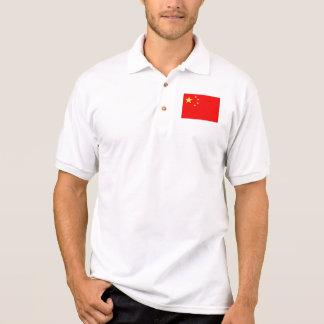 Bandera de China Playeras Polo