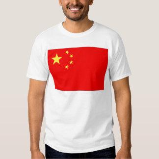 Bandera de China Remera
