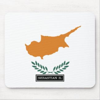 Bandera de Chipre Alfombrillas De Ratones