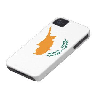 Bandera de Chipre iPhone 4 Case-Mate Protector