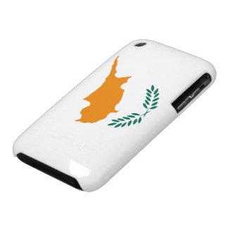 Bandera de Chipre iPhone 3 Carcasa