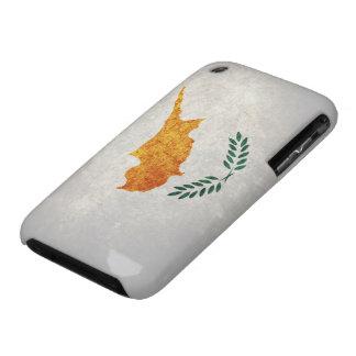 Bandera de Chipre Case-Mate iPhone 3 Carcasa