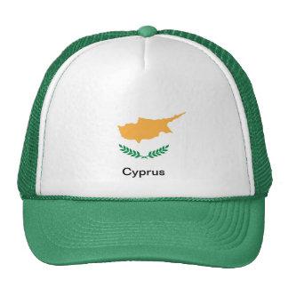 Bandera de Chipre Gorros Bordados