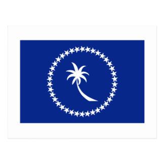 Bandera de Chuuk Tarjetas Postales