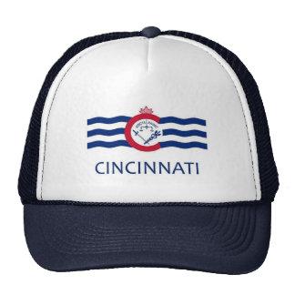Bandera de Cincinnati Gorras De Camionero