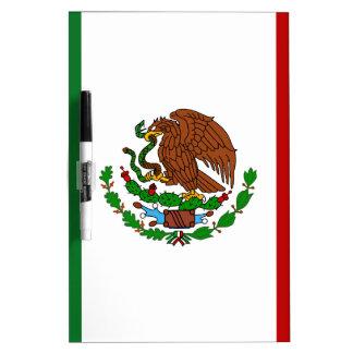 Bandera de Cinco de Mayo de México Pizarra