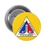 Bandera de Ciudad Quezon, en las Filipinas Pin