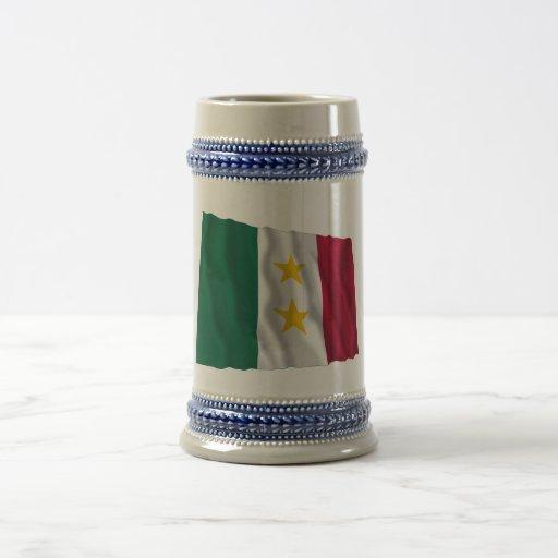 Bandera de Coahuila y Tejas Tazas De Café