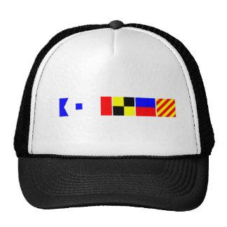 Bandera de código Ashley Gorras De Camionero